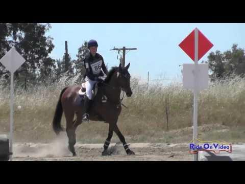 086XC Hannah Ertl On Patriot Everafter JR Novice Cross Country FCHP April 2016