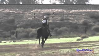 090XC Lisa Maneggie on Voodoo's Valiant Knight SR Novice Cross Country FCHP November 2014
