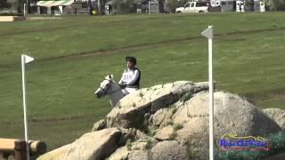 225XC Niki Hawkinson on Sweet Madeline JR Novice Cross Country Copper Meadows March 2015