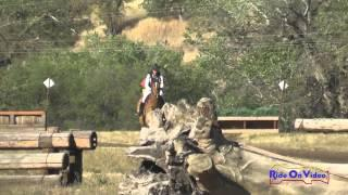 237XC Tamra Smith on Exclusive Open Training Cross Country Twin Rivers Ranch April 2015