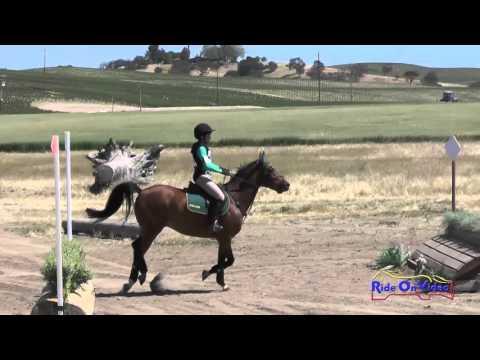400XC Jennifer Wang On Biggie Smalls SR Beginner Novice Cross Country Twin Rivers Ranch April 2016