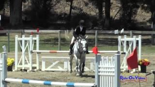 162S Shannon Harger On Real Bubbles JR Novice Show Jumping Shepherd Ranch June 2015
