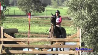154XC Erin Kellerhouse on M One Rifle Open Novice Cross Country Copper Meadows March 2015