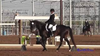 001D Jolie Wentworth on French Polish Intermediate Dressage Fresno County Horse Park Oct 2014