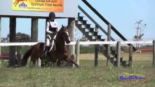 104XC Lulu Shamberg On Amarna Preliminary Rider Cross Country Shepherd Ranch June 2015