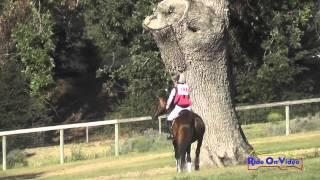 198XC Taren Atkinson On Easy A Open Novice Cross Country Shepherd Ranch June 2015
