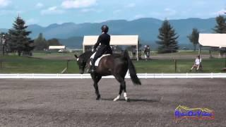 042D Becky Farrell On Gia CCI1* Dressage The Event At Rebecca Farm July 2015