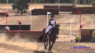 310XC Cassidy Wallace on Discover Me JR Beginner Novice Cross Country Copper Meadows September 2014