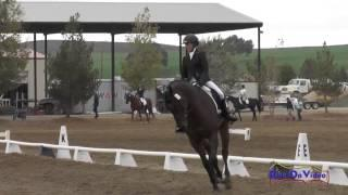 081D Mia Farley on Just a Mystery JR Training Dressage Twin Rivers Ranch Sept 2014