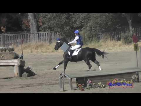 206XC Jordan Linstedt On Staccato Open Training Cross Country Woodside October 2016