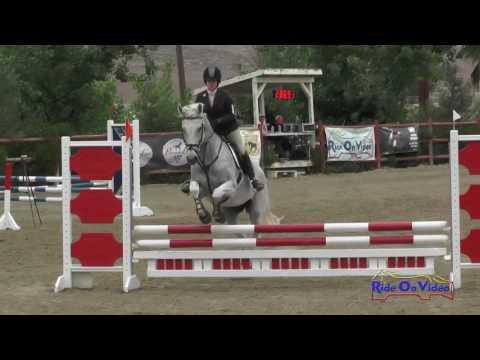 149S Carson Langenberg On Pacific JR Beginner Novice Show Jumping Copper Meadows June 2016