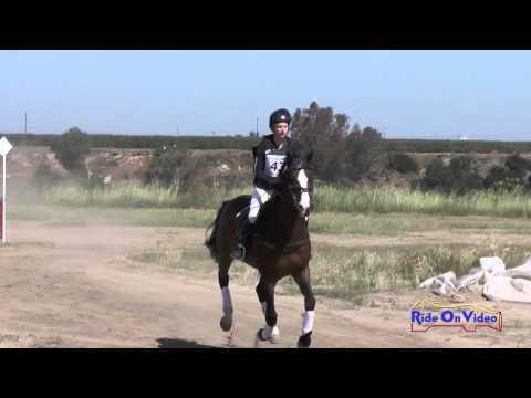 043XC Sarah Ertl On Utah B JR Training Cross Country FCHP April 2016