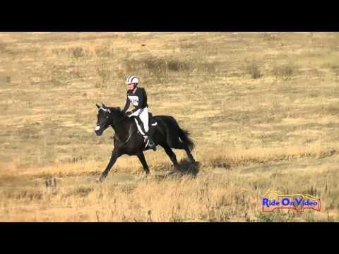 220XC Emilee Libby On Sunsprite's Fleurette Training Horse Cross Country Woodside Oct 2015