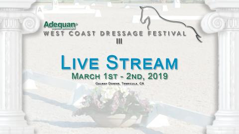 Adequan West Coast Dressage Festival