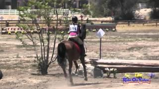 191XC Raquel Froehlich On Maggie JR Beginner Novice Cross Country Galway Downs May 2015