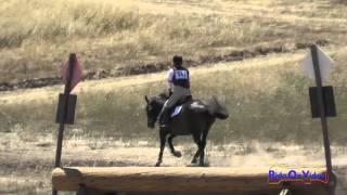 342XC Jennifer Joslin On Sotto Voce SR Beginner Novice Cross Country Woodside August 2015