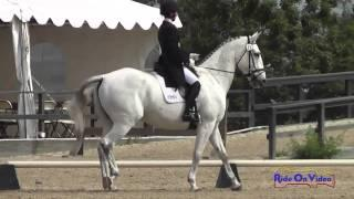011D Andrea Baxter on Fuerst Nino R Advanced Dressage Woodside May 2014