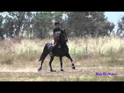 088XC Haley Olson On Lady Serafina JR Novice Cross Country FCHP April 2016