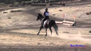 138XC Sarenna Ben Zeev JR Beginner Novice Cross Country Fresno County Horse Park Oct 2014