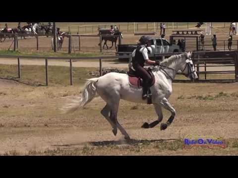 155XC Lizzy Novotny On Double Platinum SR Beginner Novice Cross Country Shepherd Ranch June 2016