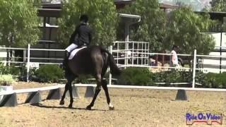 122D Mia Farley JR Training Rider Dressage Copper Meadows March 2013