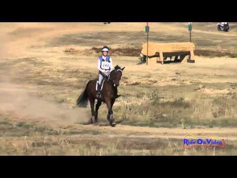 244XC Charlotte Babbitt On Under Wraps JR Novice Cross Country Woodside Oct 2015