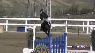 103S Joseph McKinley on Eagle Harbor Open Novice Show Jumping FCHP November 2014