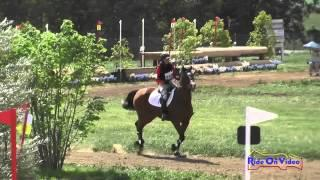 268XC Ema Adelson on Ripon SR Beginner Novice Cross Country Copper Meadows March 2015