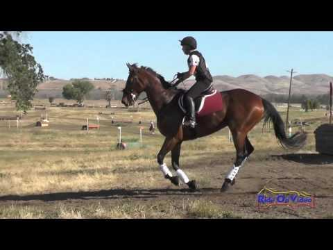 244XC Summer Black On Comissioner Gordon SR Training Cross Country Twin Rivers Ranch April 2016