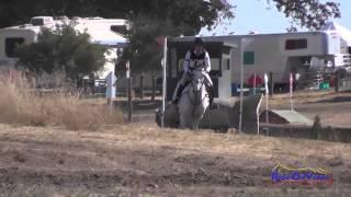 035XC Gina Miles on Contalli Di Revel Preliminary Cross Country Woodside August 2014