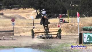 096XC Jennifer Azevedo on Belle Fleur SR Training Rider Cross Country Woodside August 2014