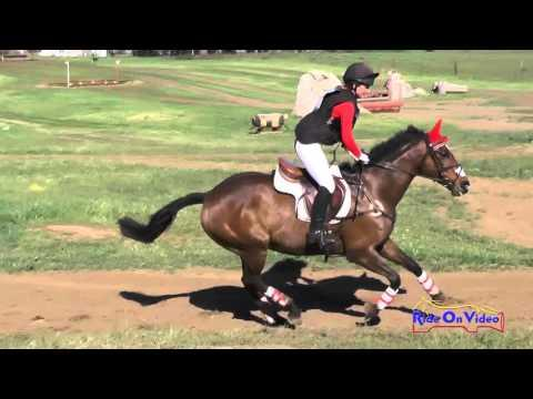 003XC Cori Davis On A Golden Effort Advanced Cross Country Copper Meadows March 2015