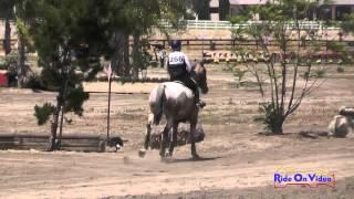 266XC Amy Gentile On Crystal Open Beginner Novice Cross Country Galway Downs May 2015