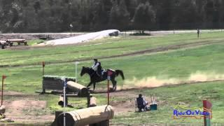 117XC Fran Lancaster on Elecktra SR Training Cross Country Copper Meadows March 2015
