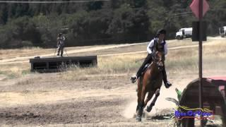 319XC Aine Minihane On Tank SR Beginner Novice Cross Country Woodside August 2015