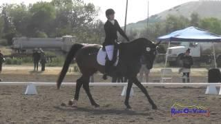 114D Victoria Garvin On Huckle JR/YR Open Preliminary Dressage Twin Rivers Ranch April 2015