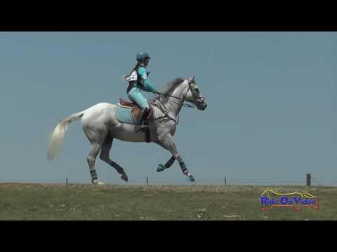 151XC Heather Rhodes On Oliver JR Beginner Novice Cross Country Shepherd Ranch Aug. 2016