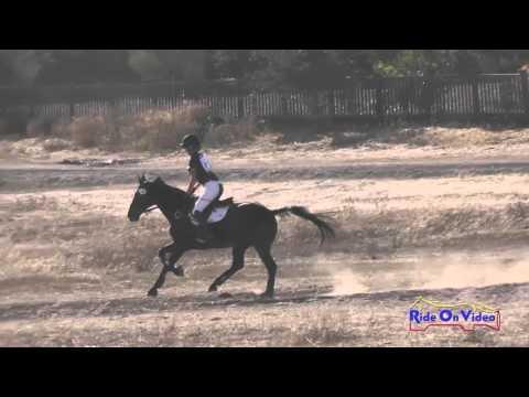 148XC Isabella Dowen On Whitaker JR Training Cross Country Woodside Oct 2015