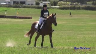 371XC Courtney McAra on Take It Away Tango Open Beg. Novice Cross Country Whidbey Island July 2017