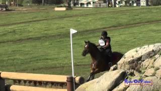 209XC Christina Chu on Jack a Dandy SR Novice Cross Country Copper Meadows March 2015