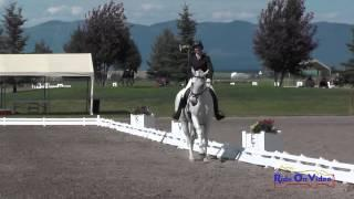 046D Erin Kellerhouse On Bill's Midnight Magic CCI1* Dressage The Event At Rebecca Farm July 2015