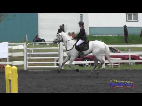 123S Juliana Cedard On Gray Goose Tryst SR Novice Show Jumping Spokane Sport Horse HT May 2016
