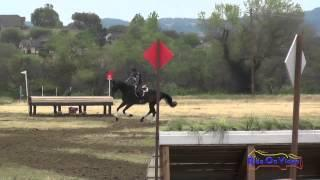 444J Andrea Baxter on Laguna Seca YEH 5Yr Old Jumping Twin Rivers Ranch April 2015