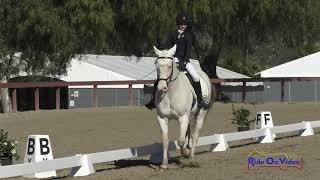 175D Ava Torres on WKD Lad Intro Dressage Galway Downs Feb. 2020