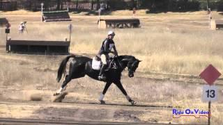 041XC Frankie Thieriot on Chatwin CIC1* Cross Country Woodside Int'l Event Oct 2014