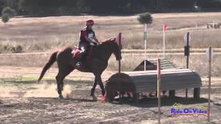 143XC Vicki Martinez on Hoppi SR Training Cross Country Woodside Int'l Event Oct 2014