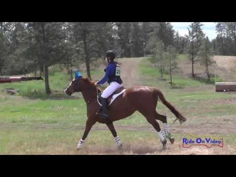 293XC Rita Nedrow JR/YR Preliminary Cross Country Spokane Sport Horse HT May 2016