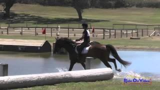 115XC Kate Zuckerman On Ikon Intro Cross Country Shepherd Ranch August 2015