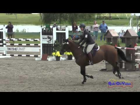 011S Erin Serafini On Another Star CCI1* Show Jumping The Event At Rebecca Farm July 2015