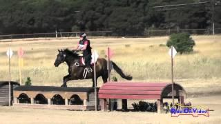 197XC Kendel Shapses On Desert Pearl SR Novice Cross Country Woodside August 2015
